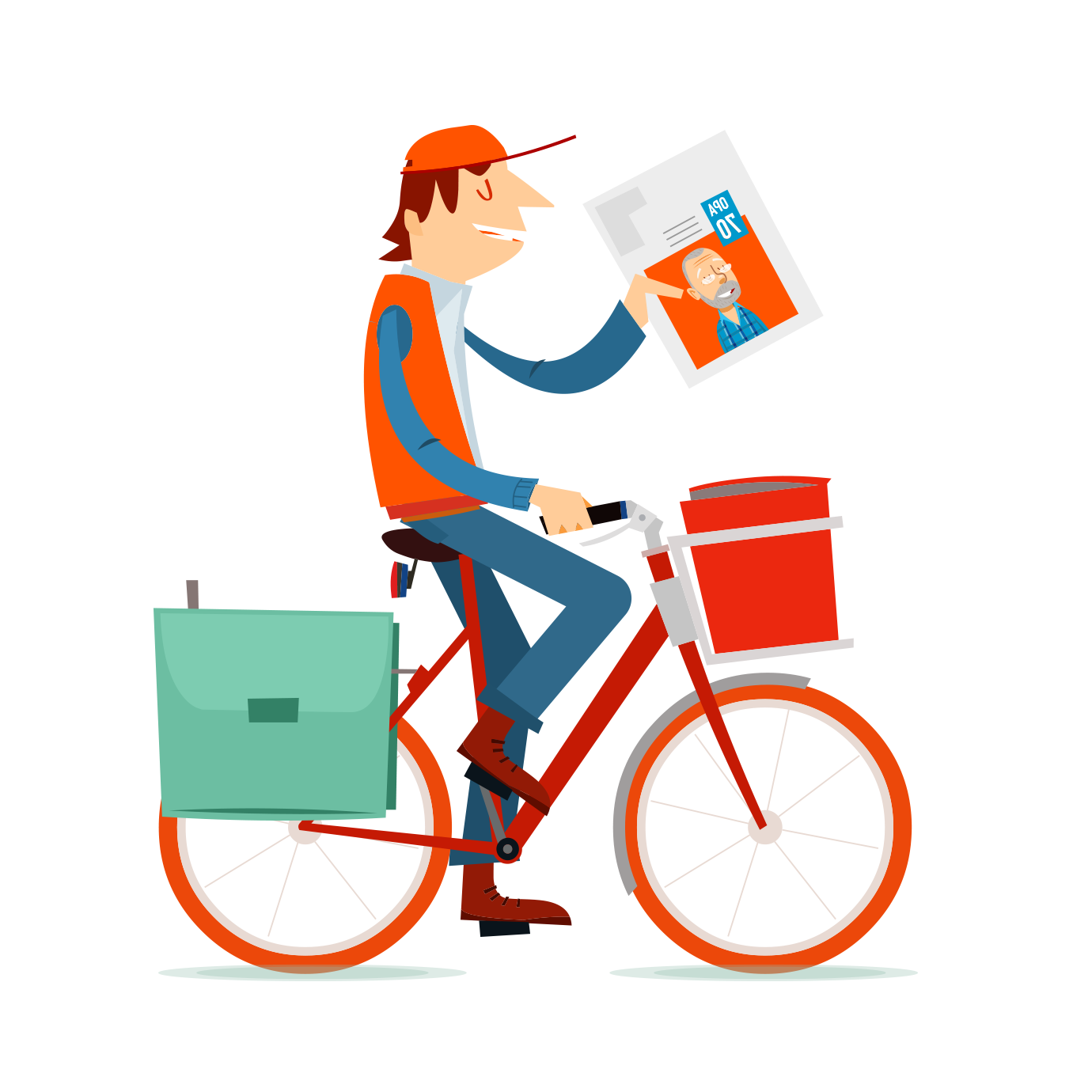 Make a newspaper and have it home-delivered - Happiedays