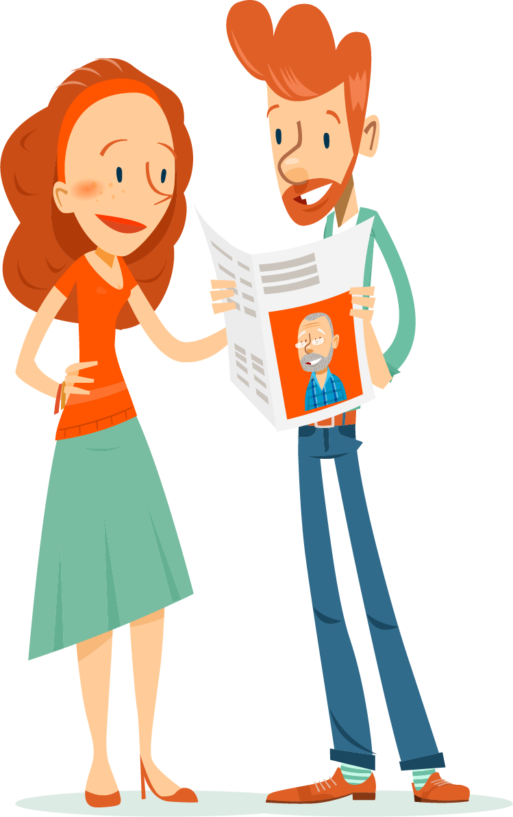 make a personalised newspaper online - Happiedays