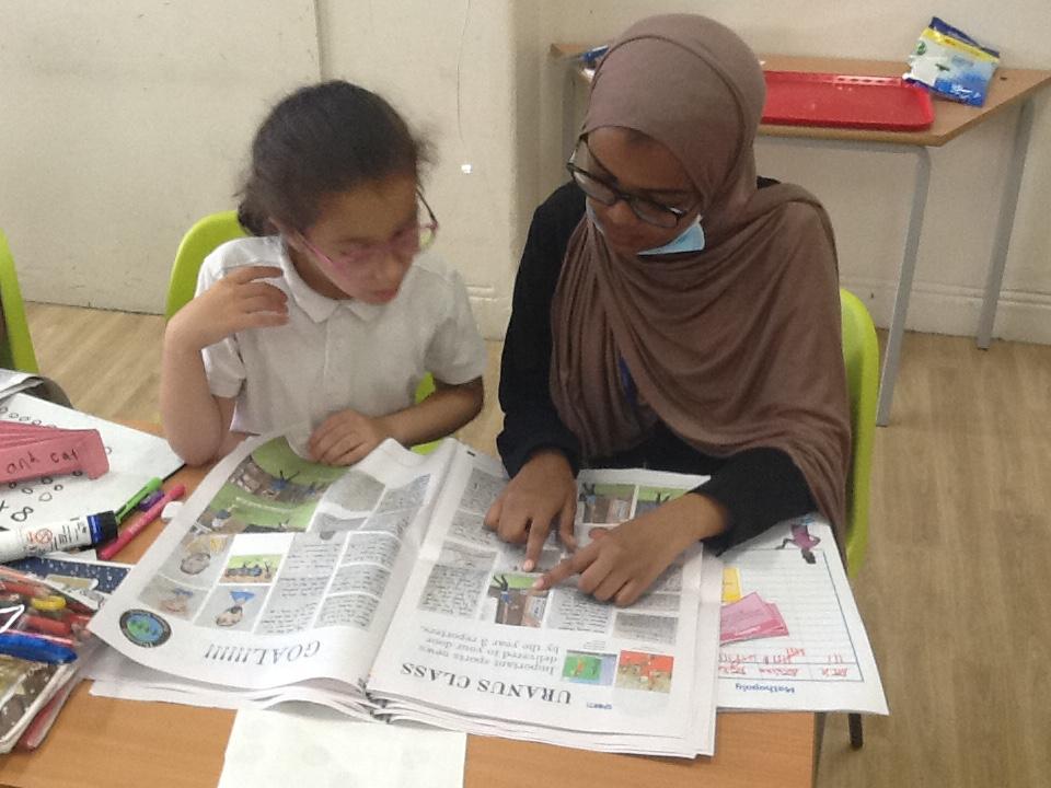 class newspaper project - Happiedays