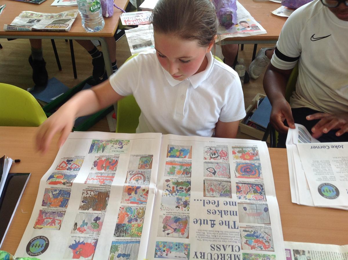 creating a classroom newspaper - Happiedays