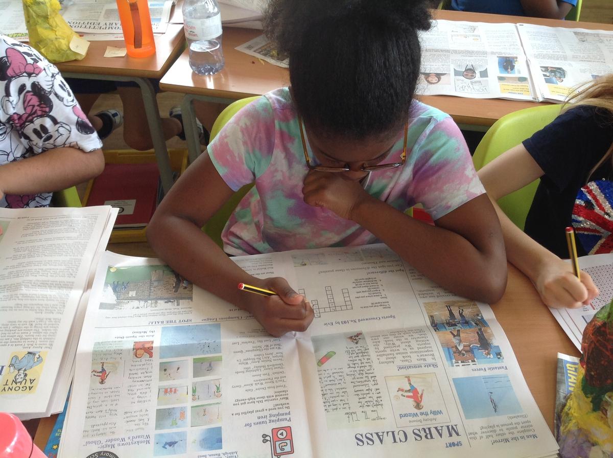 web toos to create classroom newspaper - Happiedays