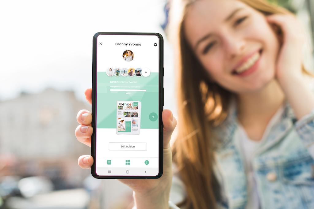 Make a newspaper on your smartphone - Happiedays