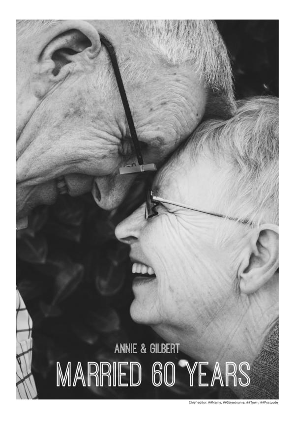 Maak je eigen krant sjabloon huwelijk | Happiedays