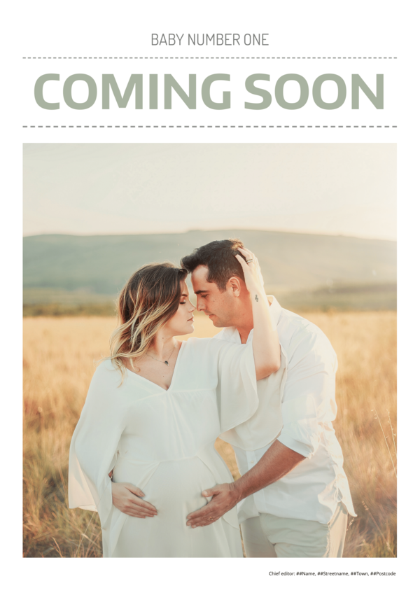 make a newspaper newspaper template baby announcement - happiedays