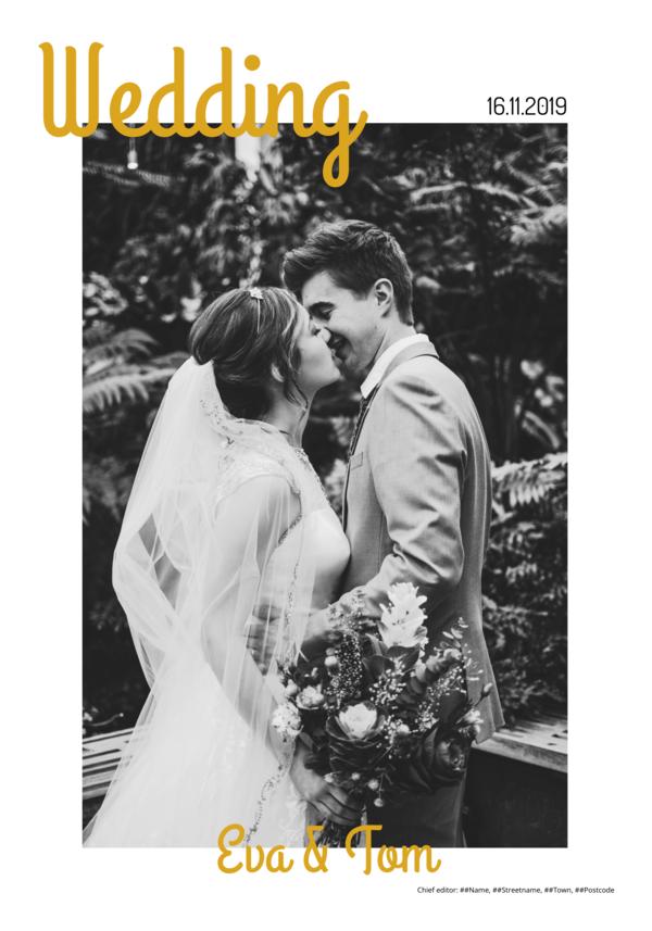 Make your own newspaper template wedding | Happiedays