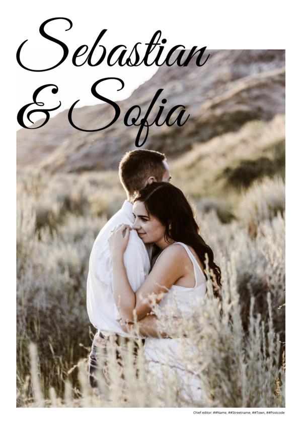 Make your own newspaper template wedding   Happiedays