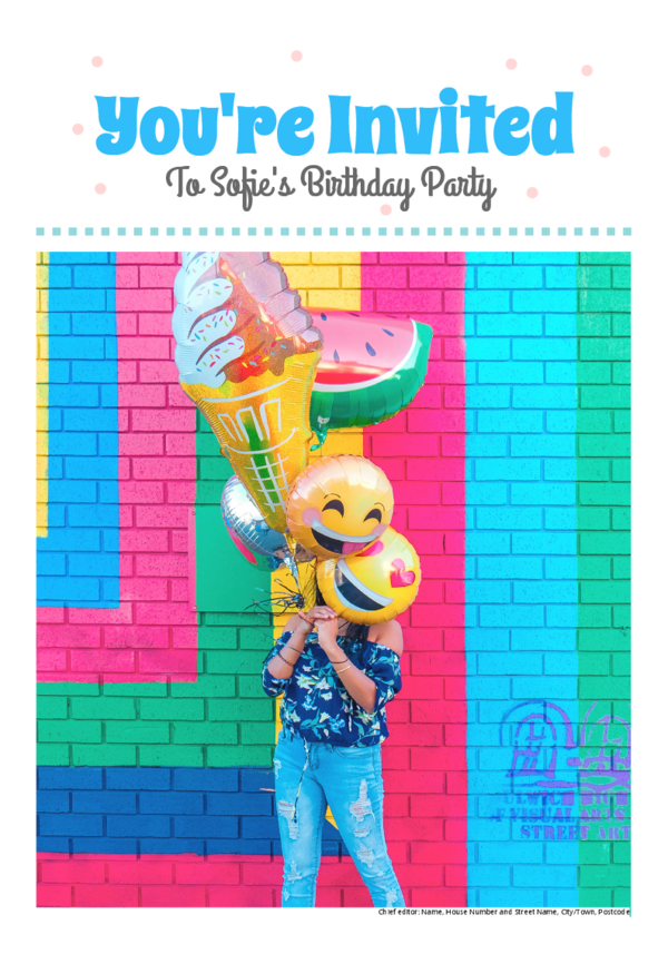 Make your own newspaper template birthday | Happiedays